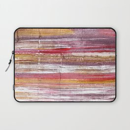Lavender blush abstract watercolor Laptop Sleeve