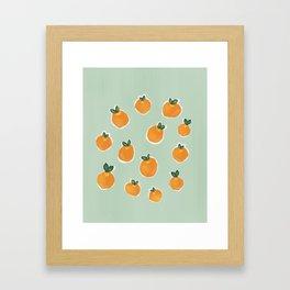 Tiny Clementines Framed Art Print