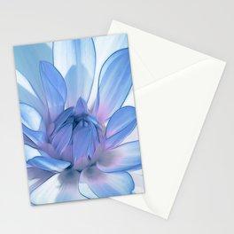 Dahlia blue 202 Stationery Cards
