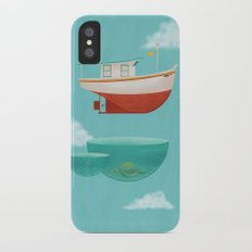 Floating Boat Slim Case iPhone X