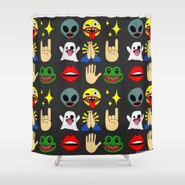 Goons Emojis Shower Curtain
