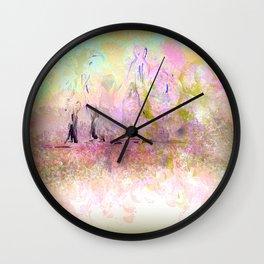 Sweet Ladies of the Lake Wall Clock