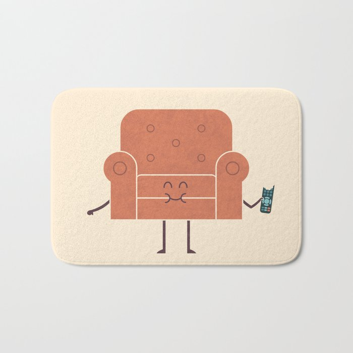 Couch Snack Bath Mat
