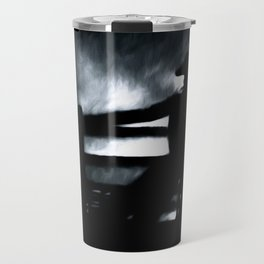 Cowboy In The Misty Night Travel Mug