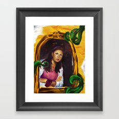 alice 01 Framed Art Print