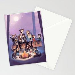 Adoptive sky parents Stationery Cards