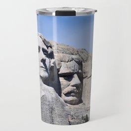 Mt Rushmore Travel Mug