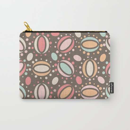 Retro pattern. Beans. Carry-All Pouch