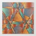 Sedona Glass Abstract by sandandchi