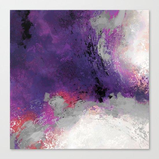 Purple Rain Canvas Print