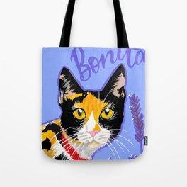 Bonita the cat Tote Bag