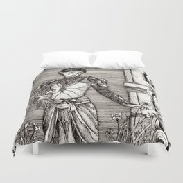 The most evil thing Duvet Cover