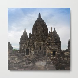 Prambanan temple indonesia jogjakarta Metal Print