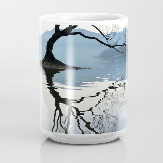 The Wanaka Tree South Island New Zealand Coffee Mug By Alexandrakduggan Society6