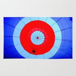 Inside the Center of a Hot Air Balloon Rug