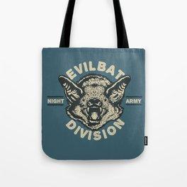 Evil Bat Division Tote Bag