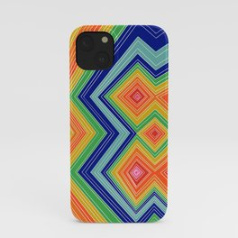 Neon Love - Four Diamonds - Lines - Illusions - Pride iPhone Case