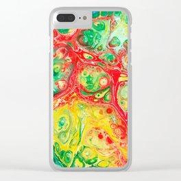 Let it Flow 6 Clear iPhone Case