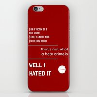 michael scott iPhone & iPod Skins featuring Michael Scott on Hate Crimes (The Office) by thebuccanear