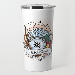 Ranger - Vintage D&D Tattoo Travel Mug