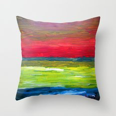 d e l i t e s a i l Throw Pillow