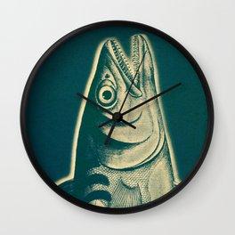 Piscibus 3 Wall Clock