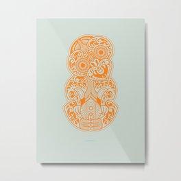Hei Tiki Metal Print