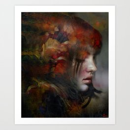 The medium Art Print