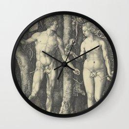 Albrecht Durer ADAM and EVE Wall Clock