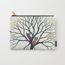 Maryland Whimsical Cats in Tree Carry-All Pouch