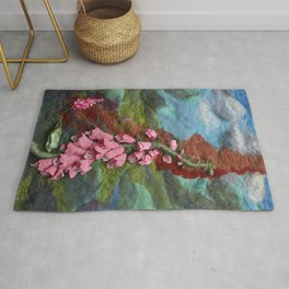 Forest of Foxgloves Rug
