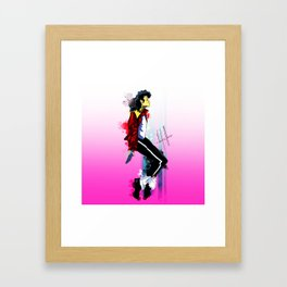 because Nichole Framed Art Print