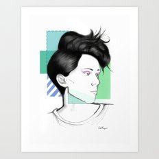Heartthrob 2 Art Print