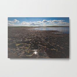 The Temporary Island Metal Print