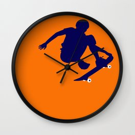 Skater High Wall Clock