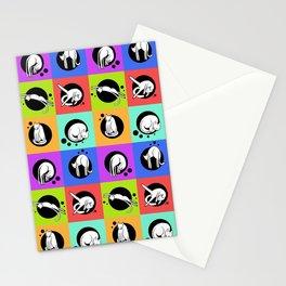 Rainbow Cat Yoga Stationery Cards