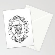 Gilles the dapper Schnauzer Stationery Cards