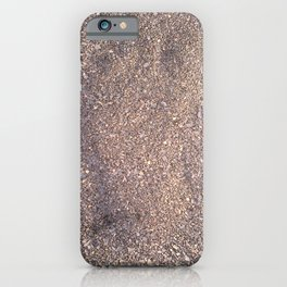 trace in the sand iPhone Case