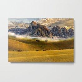 The mountains. Metal Print