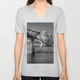 St Pauls, London Unisex V-Neck