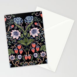 Strawberry Tapestry Stationery Cards