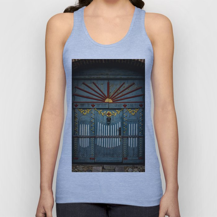 The Gate to Valhalla Unisex Tank Top