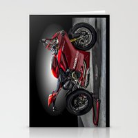 ducati Stationery Cards featuring Ducati 1199 Panigale R by Elias Silva Photography