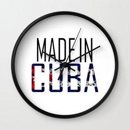 Made In Cuba Wall Clock
