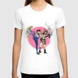 Chun-Li and Jet Girl, Round 2! T-shirt