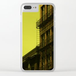 Old factory, Lowell Clear iPhone Case