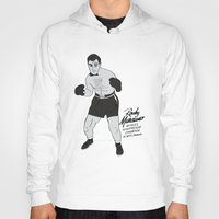 rocky Hoodies featuring Rocky - Rocky Marciano by V.L4B