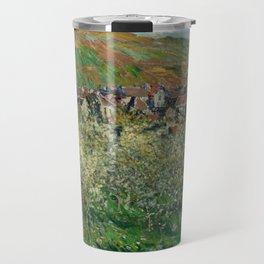 Plum Trees in Blossom Travel Mug