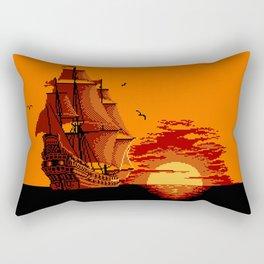 Transatlantic Voyage Rectangular Pillow