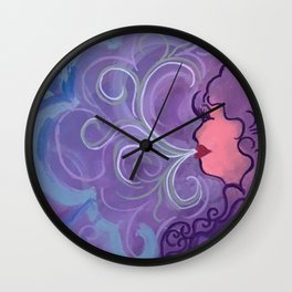 Smokin Wall Clock